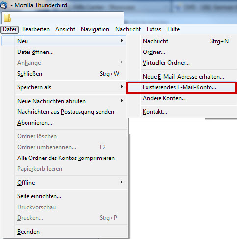 how to see password in mozilla thunderbird