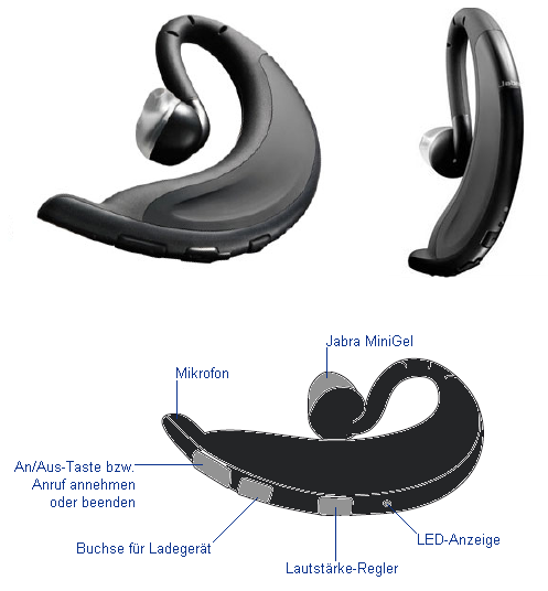 Jabra Headset BT2020