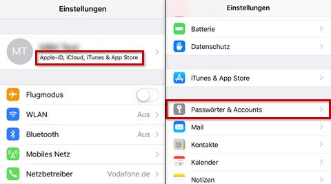 mein iphone suchen in icloud deaktivieren