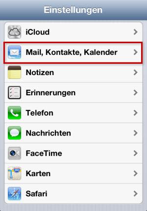 Iphone X Mail Einrichten