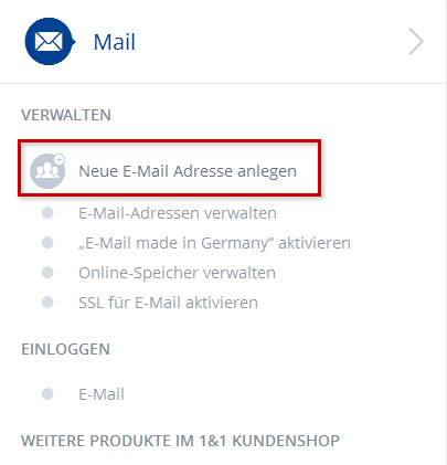 Neue email anlegen iphone